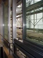 ペアガラスで断熱性の高い窓 前側